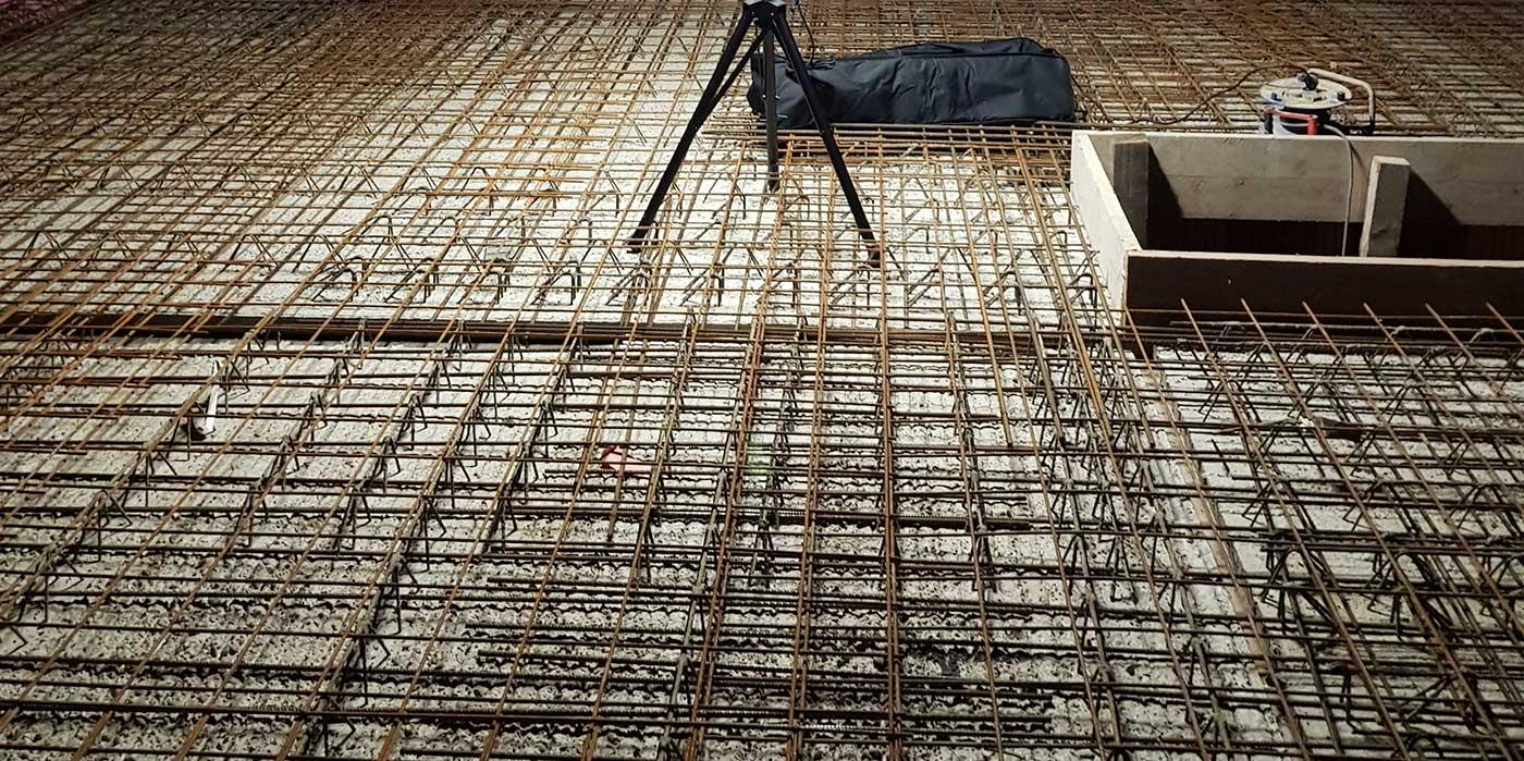Deckenplatte-betoniert