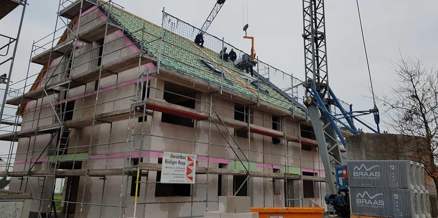 Fassadenarbeiten-am-Rohbau